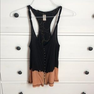 Free People racer tank size small